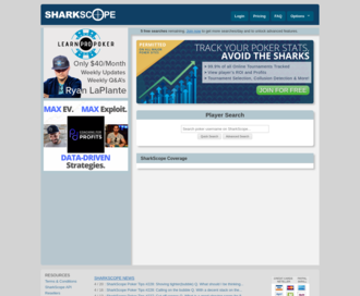 Access sharkscope.com using Hola Unblocker web proxy