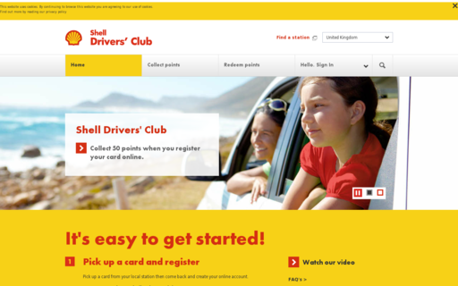 Access shelldriversclub.com using Hola Unblocker web proxy