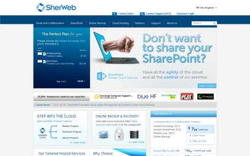 Access sherweb.com using Hola Unblocker web proxy