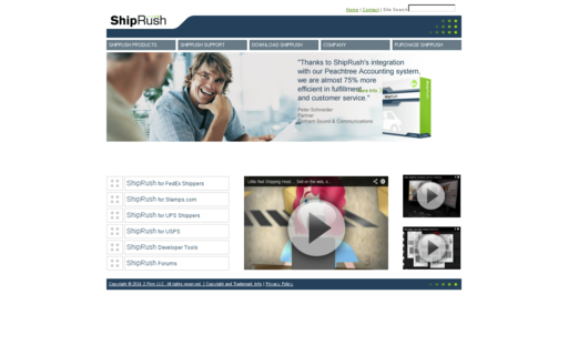 Access shiprush.com using Hola Unblocker web proxy