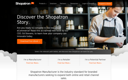 Access shopatron.com using Hola Unblocker web proxy