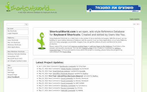 Access shortcutworld.com using Hola Unblocker web proxy