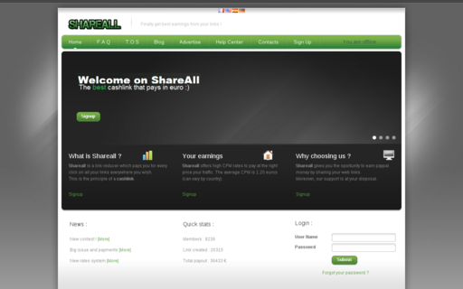 Access shortlink.fr using Hola Unblocker web proxy