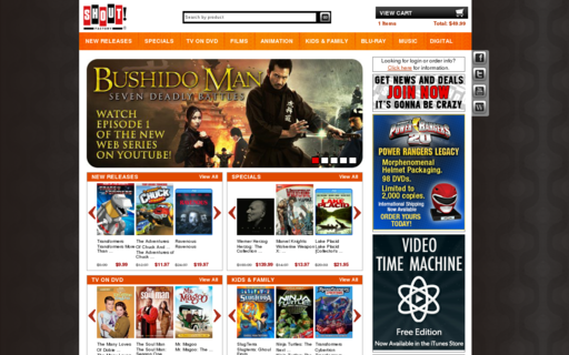 Access shoutfactory.com using Hola Unblocker web proxy