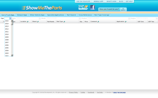 Access showmetheparts.com using Hola Unblocker web proxy