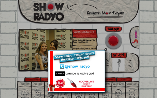 Access showradyo.com.tr using Hola Unblocker web proxy