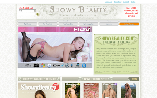 Access showybeauty.com using Hola Unblocker web proxy