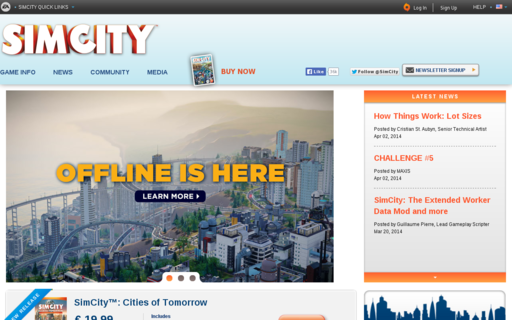 Access simcity.com using Hola Unblocker web proxy