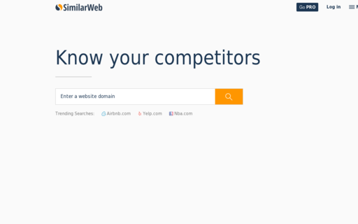 Access similarweb.com using Hola Unblocker web proxy