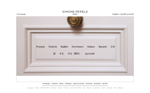 Access simone-perele.com using Hola Unblocker web proxy
