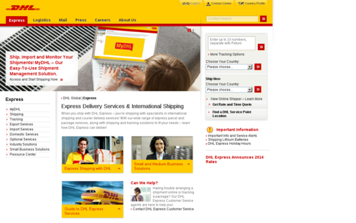 Access simplydhl.com using Hola Unblocker web proxy