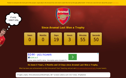 Access sincearsenallastwonatrophy.co.uk using Hola Unblocker web proxy