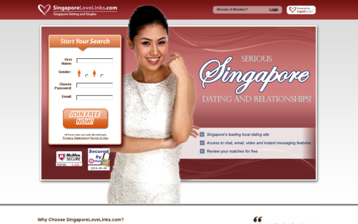 Access singaporelovelinks.com using Hola Unblocker web proxy