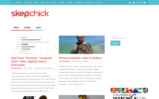Access skepchick.org using Hola Unblocker web proxy