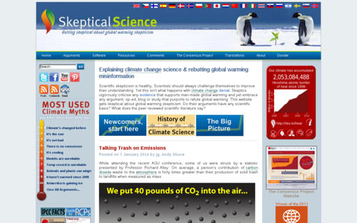 Access skepticalscience.com using Hola Unblocker web proxy