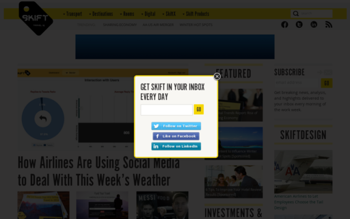 Access skift.com using Hola Unblocker web proxy
