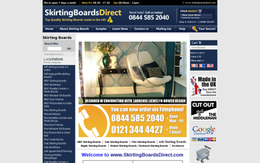 Access skirtingboardsdirect.com using Hola Unblocker web proxy