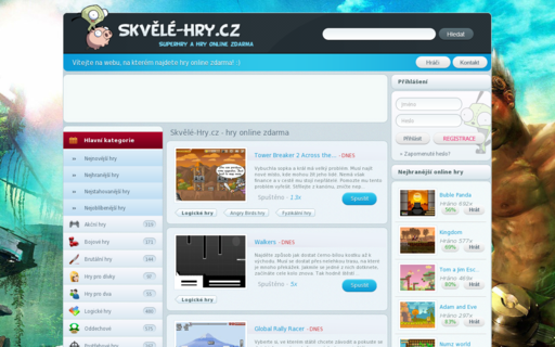 Access skvele-hry.cz using Hola Unblocker web proxy