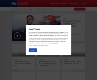 Access skysports.com using Hola Unblocker web proxy
