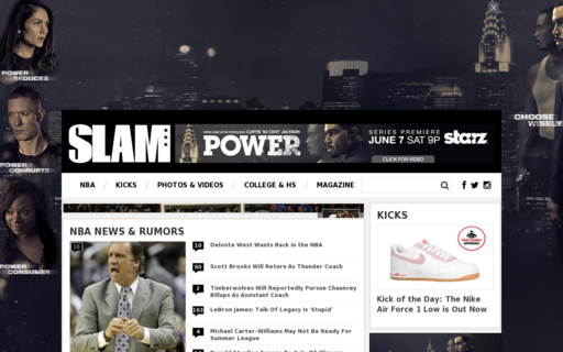 Access slamonline.com using Hola Unblocker web proxy