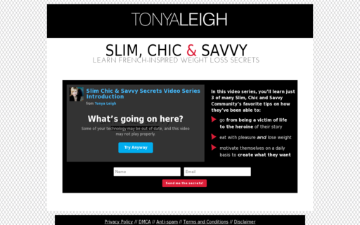 Access slimchicandsavvy.com using Hola Unblocker web proxy