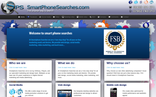 Access smartphonesearches.com using Hola Unblocker web proxy