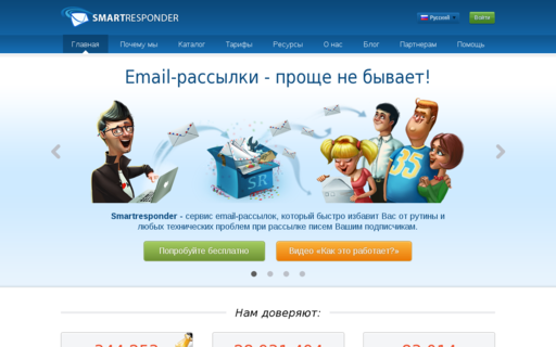 Access smartresponder.ru using Hola Unblocker web proxy