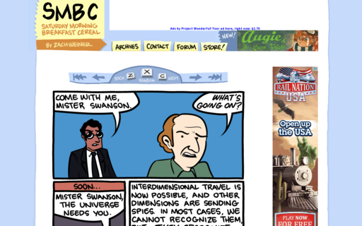 Access smbc-comics.com using Hola Unblocker web proxy