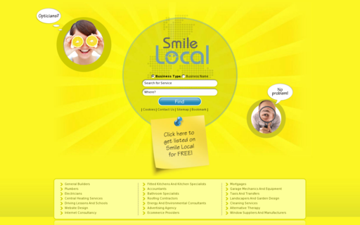 Access smilelocal.com using Hola Unblocker web proxy