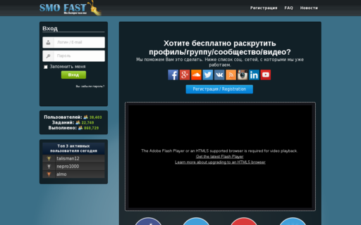 Access smofast.com using Hola Unblocker web proxy