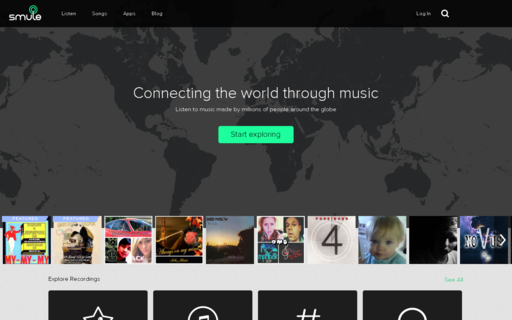 Access smule.com using Hola Unblocker web proxy