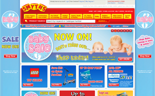 Access smythstoys.com using Hola Unblocker web proxy