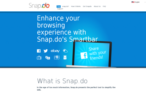 Access snapdo.com using Hola Unblocker web proxy