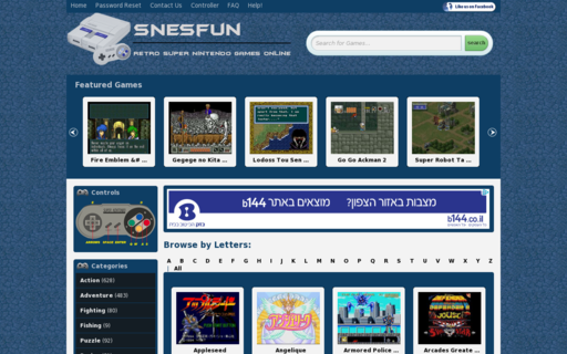 Access snesfun.com using Hola Unblocker web proxy