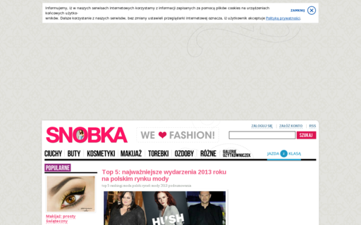 Access snobka.pl using Hola Unblocker web proxy
