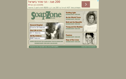 Access soapzone.com using Hola Unblocker web proxy