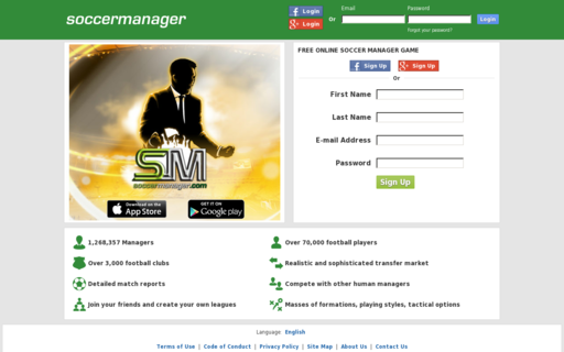 Access soccermanager.com using Hola Unblocker web proxy