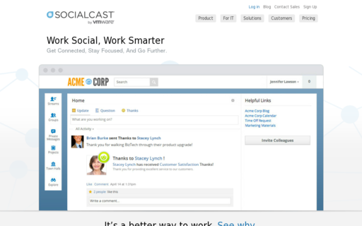 Access socialcast.com using Hola Unblocker web proxy
