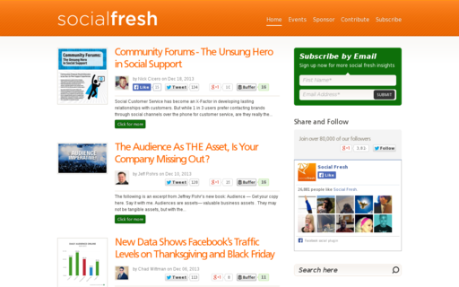 Access socialfresh.com using Hola Unblocker web proxy