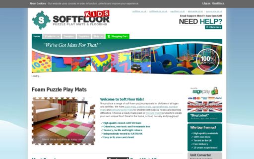 Access softfloorkids.co.uk using Hola Unblocker web proxy