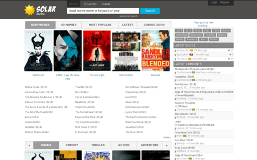 Access solarmovie.tl using Hola Unblocker web proxy