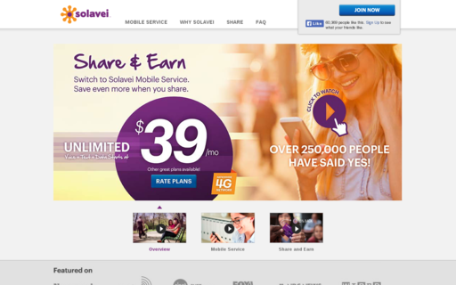 Access solavei.com using Hola Unblocker web proxy