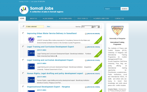 Access somalijobs.net using Hola Unblocker web proxy