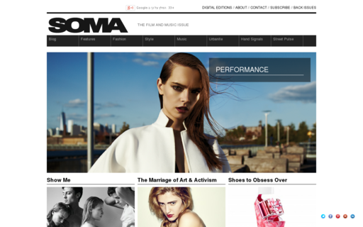 Access somamagazine.com using Hola Unblocker web proxy