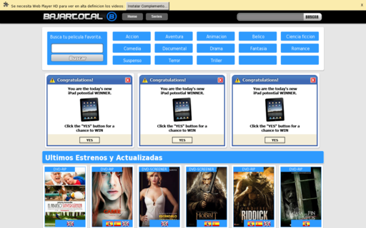 Access sonestrenos.com using Hola Unblocker web proxy