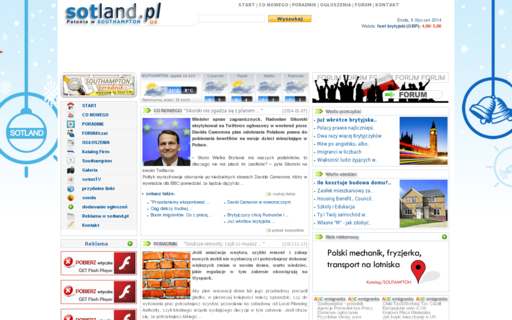 Access sotland.pl using Hola Unblocker web proxy