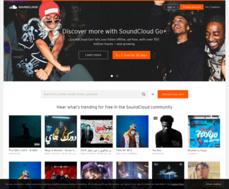 Access soundcloud.com using Hola Unblocker web proxy