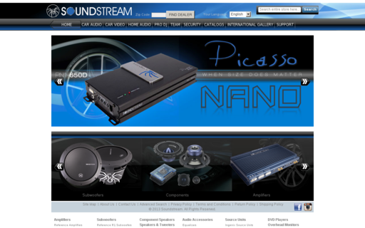 Access soundstream.com using Hola Unblocker web proxy
