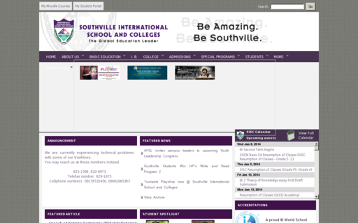 Access southville.edu.ph using Hola Unblocker web proxy