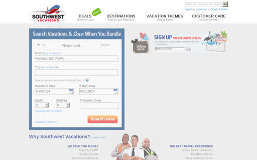Access southwestvacations.com using Hola Unblocker web proxy
